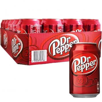 Hel Platta Dr Pepper 24 x 33cl - 40% rabatt