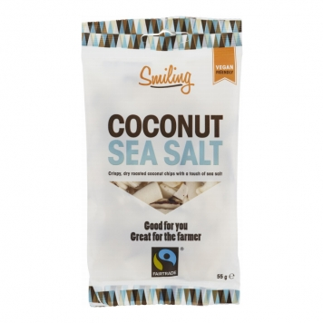Kokoschips Havssalt 55g - 21% rabatt