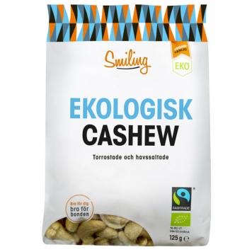 Cashewnötter Havssalt 125g - 16% rabatt