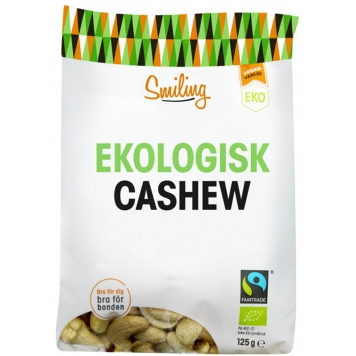 Cashewnötter Naturell 125g - 16% rabatt